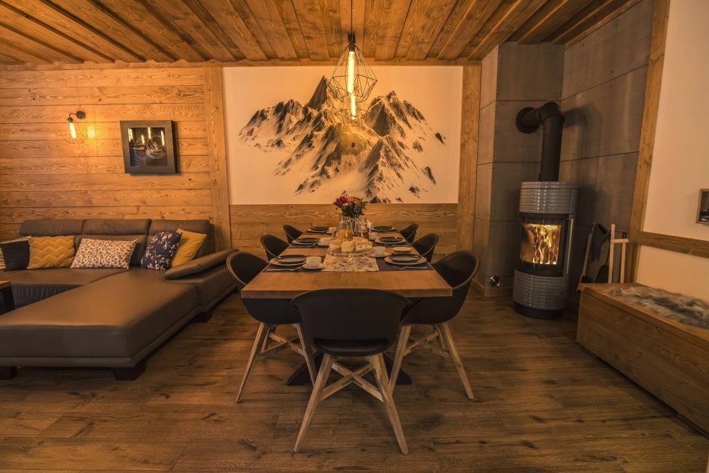 Chata Pri Potoku - dining room