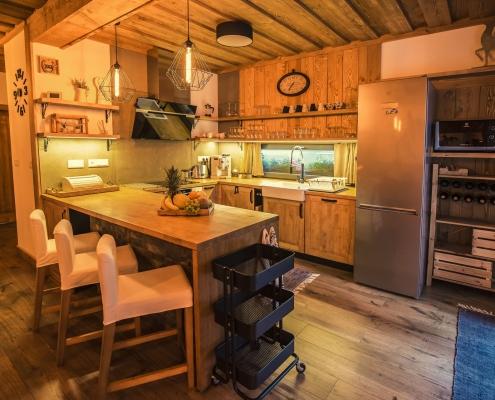 Chata Pri Potoku - kuchyňa