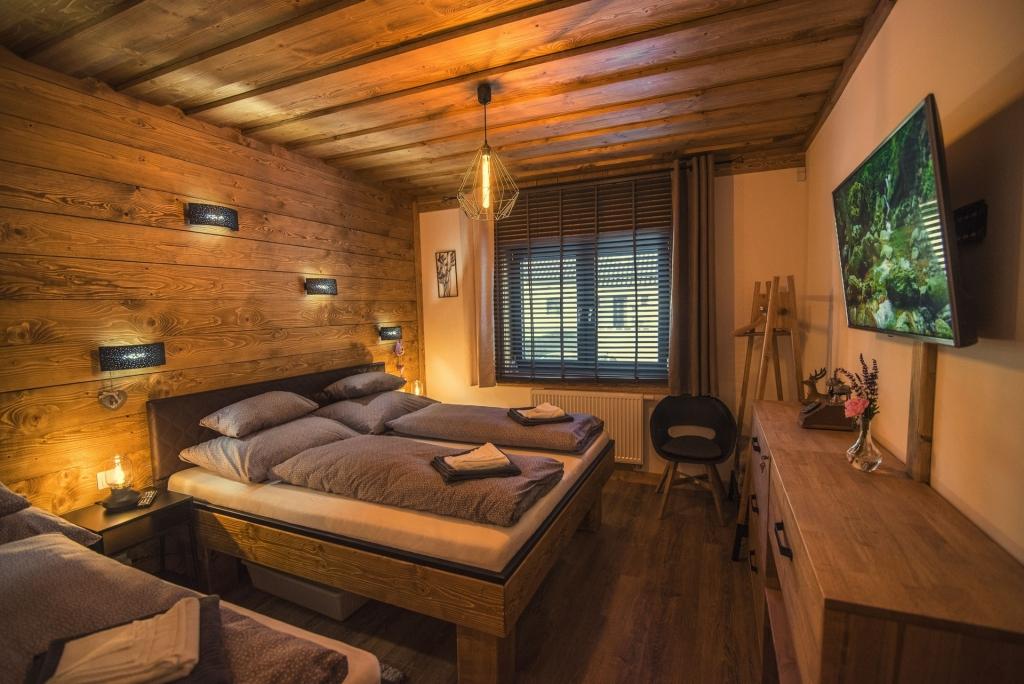 Chata Pri Potoku - spálňa č. 1