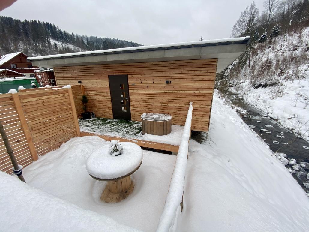 Sauna-Exterier